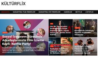 Film ve Dizi Kültürümüzü Ferahlatan Bir Web Site, KültürFlix!