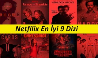 Netflix En İyi 9 Dizi