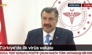 Corona virüsü Türkiye'de Teşhis Edildi