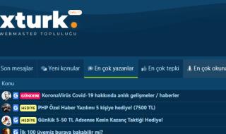 Türkiyenin Yeni  Webmaster Forumu Xturk.com yayında!