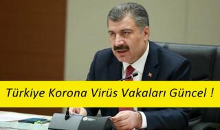 1 Nisan Korona Virüs Vakaları ! Bakan Koca Açıkladı