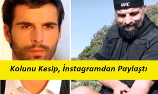Mehmet Akif Alakurt Kolunu Kesip, Hesabından Paylaştı !
