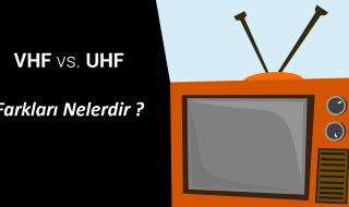 VHF ve UHF - Antenli OTA Frekans Bantları Neden Önemlidir ?