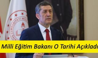 Okullar Ne Zaman Açılacak ? Milli Eğitim Bakanı Ziya Selçuk Açıklama Yaptı 1