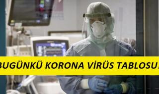 21 Mayıs Korona Virüs Tablosu