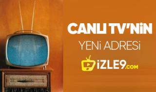 Yeni ve güncel canlı tv izleme sitesi izle9.com yakında sizlerle..