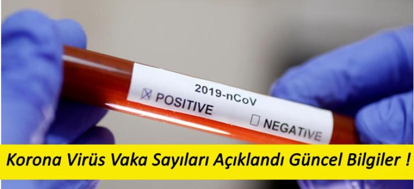 4 Nisan Türkiye Güncel Korona Virüs Vaka Sayıarı