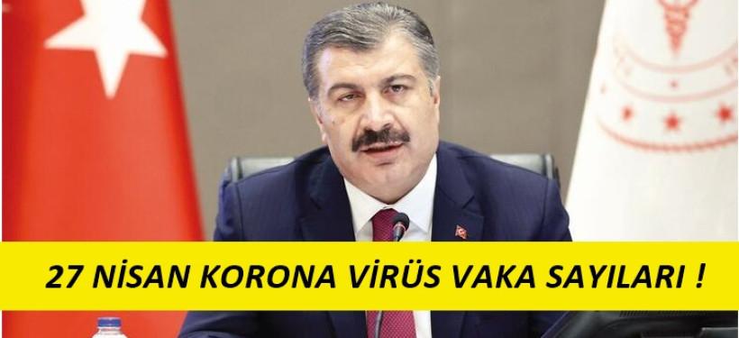 27 Nisan Korona Virüs Tablosu