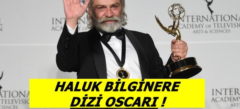 Haluk Bilginer'e Dizi Oscarı !